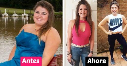 Esta chica bajó más de 50 kilos y lo logró sin ninguna dieta extrema