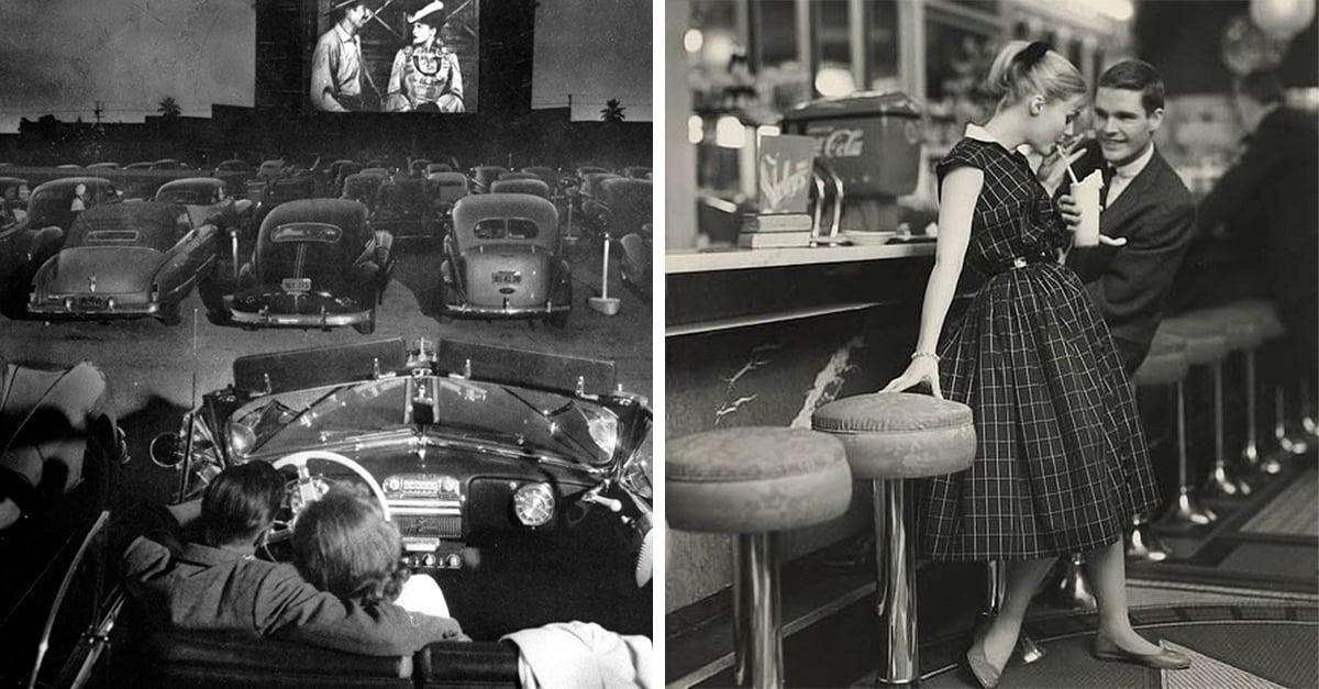 Citas en 1950, todo era tan hermoso