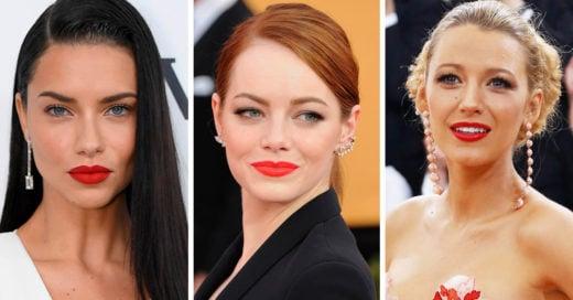Cómo escoger el labial rojo perfecto según tu tono de piel