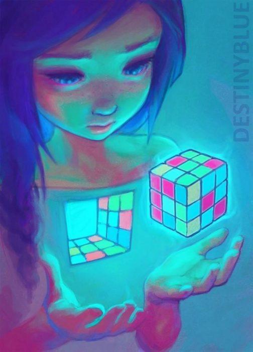 destinyblue ilustraciones
