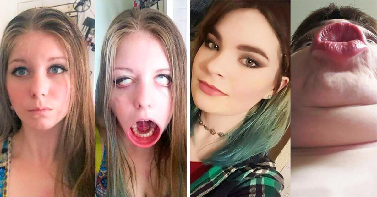 Estas selfies revelan que la perfección no existe