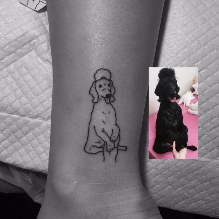 doggy tattoo