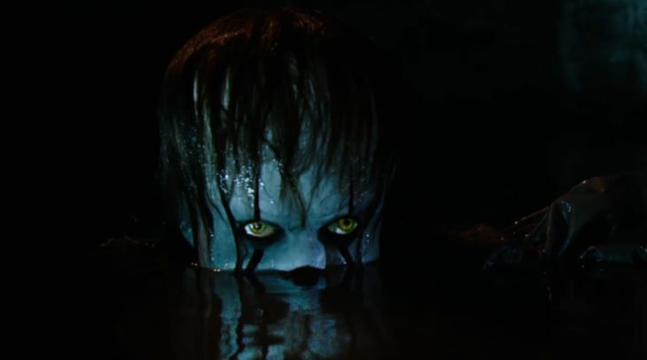 pennywise bajo el agua