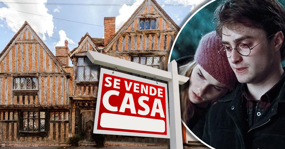 La casa de Harry Potter en Godric's Hollow está a la venta y te fascinará ¡es sencillamente