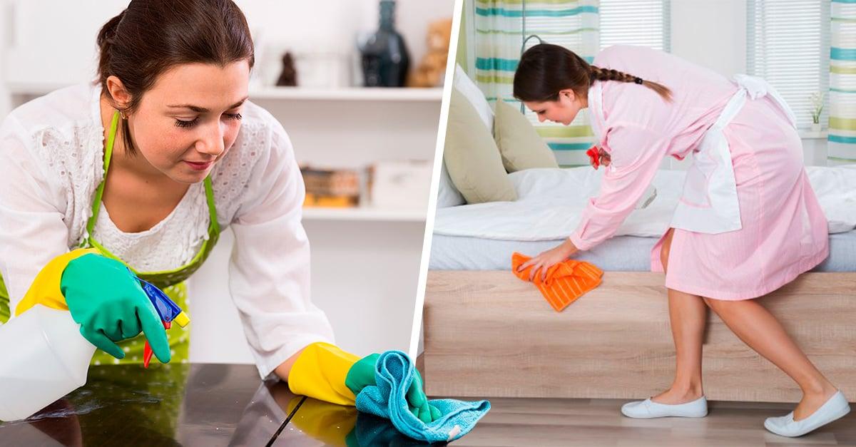 La fórmula para la felicidad es contratar a una persona que limpie tu casa