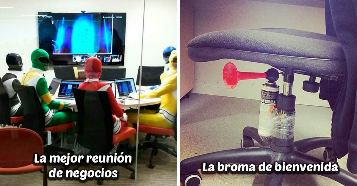 20 Divertidas fotografías que resumen la vida en la oficina a la perfección