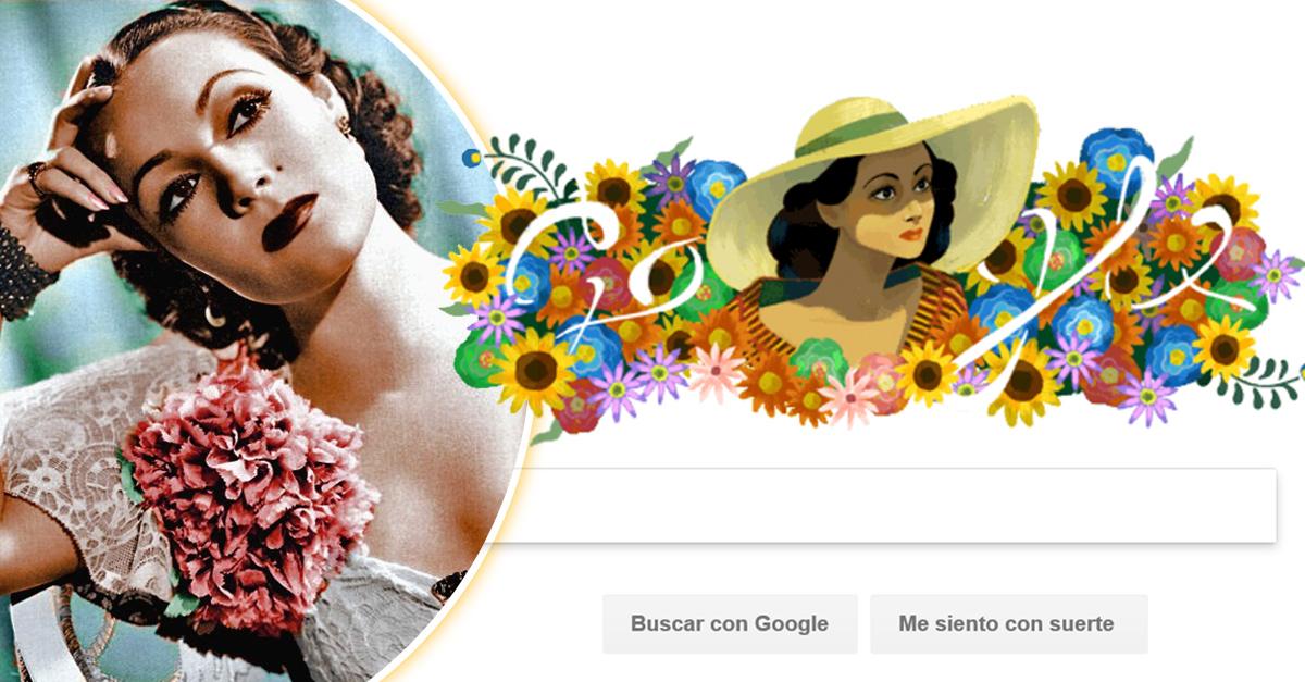 Google homenajea a Dolores del Río; la primera latina en conquistar Hollywood