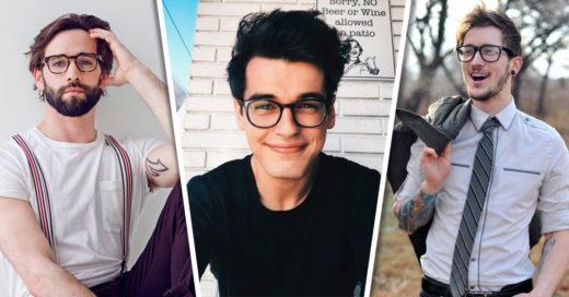 20 Hombres guapos con anteojos a los que es un placer mirarlos