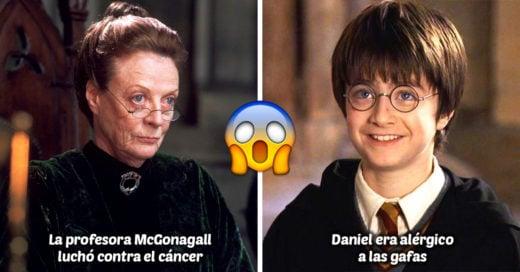 15 Datos que cambiarán todo lo que creías acerca de Harry Potter