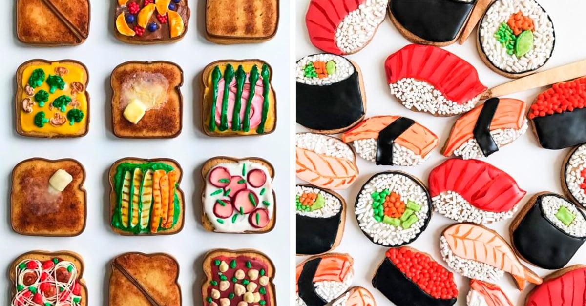 30 Imágenes de las galletas de jengibre más originales; no sabrás si compartirlas o guardarlas