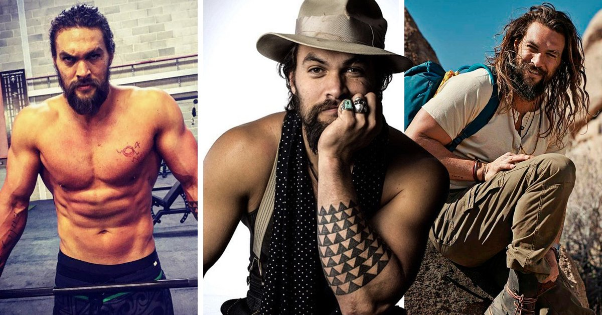 ¡Alerta HOT! Estas fotos de Jason Momoa mostrando sus perfectos abdominales harán que suba la temperatura