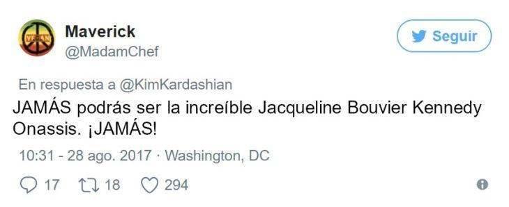 kim kardashian como jackie o