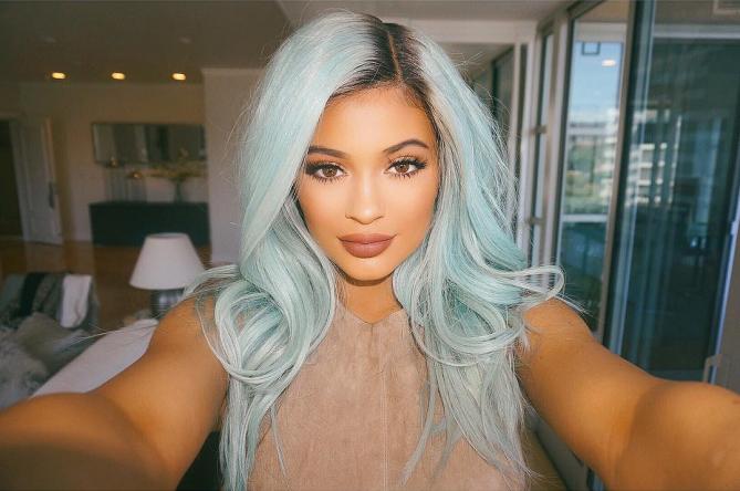 Kylie Jenner Verde Menta