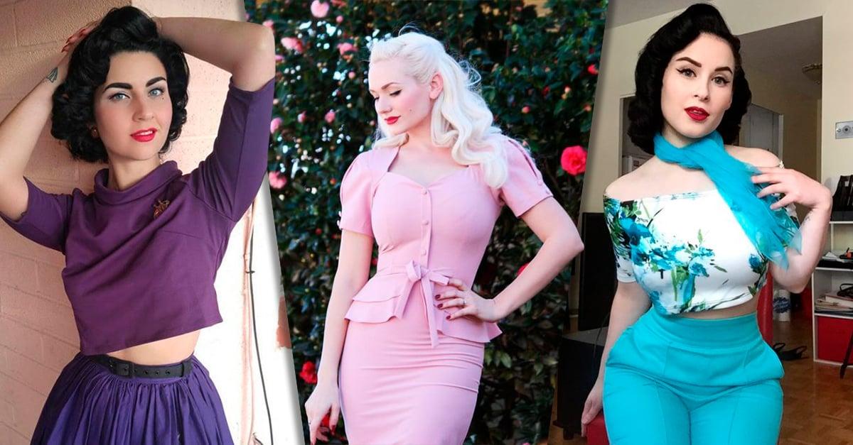16 mujeres que dominan el estilo vintage de los años 50