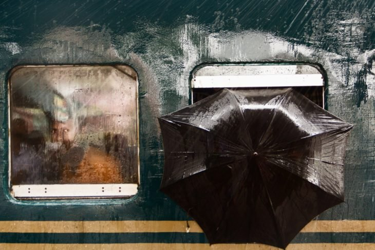 lluvia en Gazipur, Bangladesh