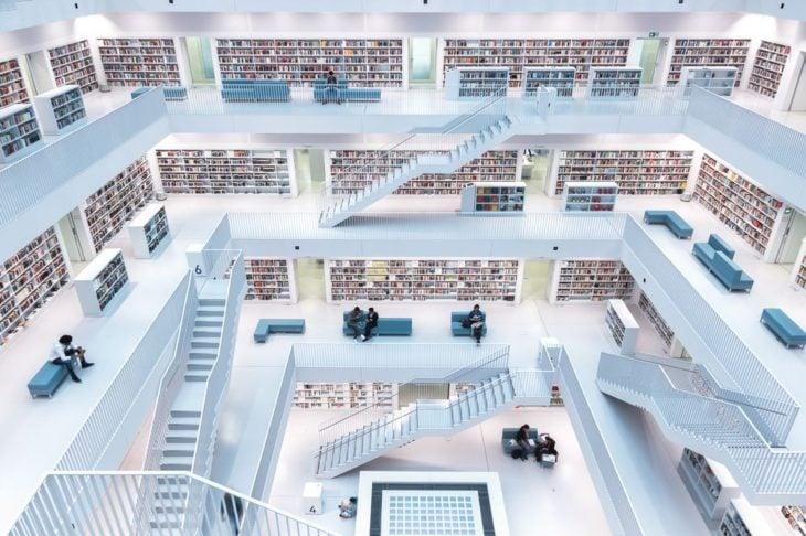 librería en Stuttgart, Alemania