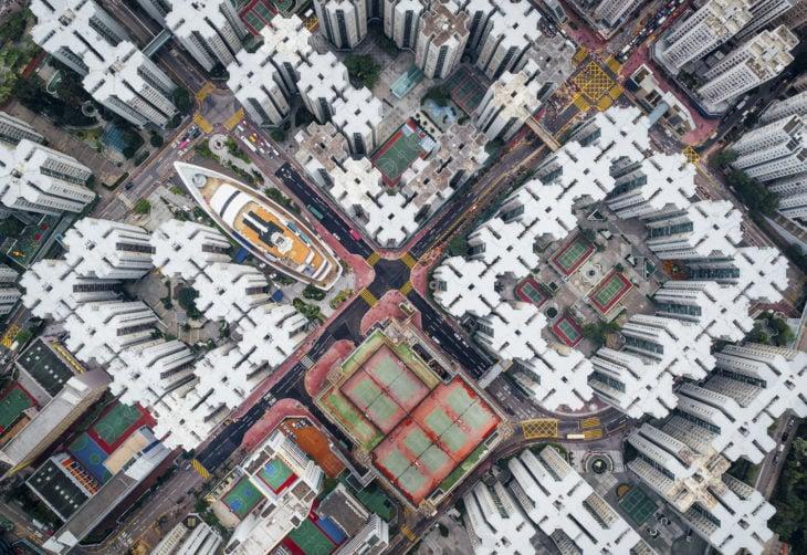 vista de Whampoa Garden, Hong Kong