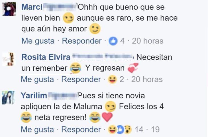 comentarios de amigas en facebook