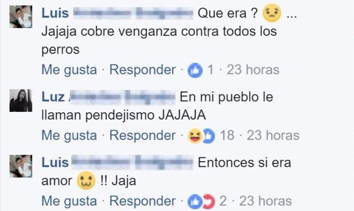 comentarios facebook novios