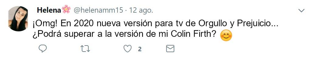 orgullo y prejuicio version 2020