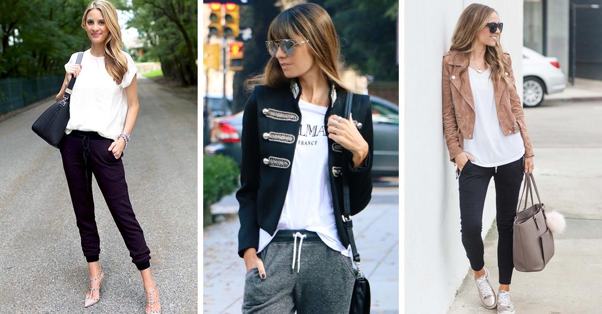 15 Formas en las que puedes usar jogger pants para ir a trabajar