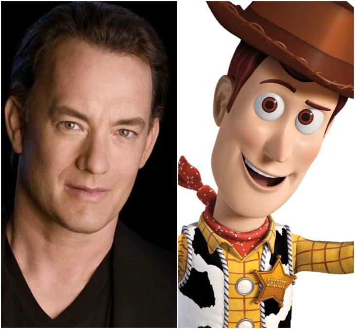personajes inspirados en famosos tom hanks