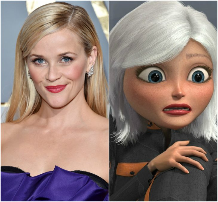 personajes inspirados en famosos reese witherspoon