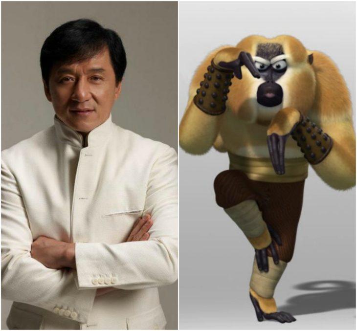 personajes inspirados en famosos jackie chan