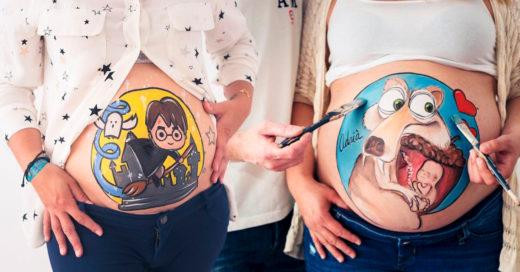 Belly Painting, una maravillosa forma de recordar tu embarazo