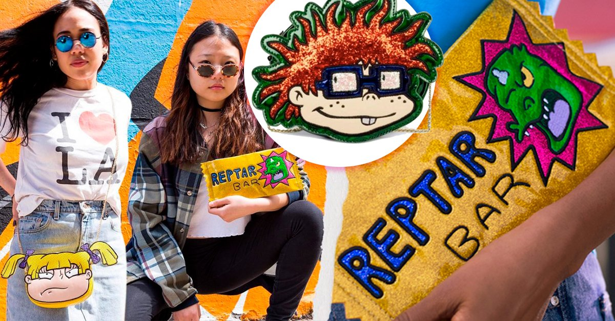 Una colección de prendas inspirada en 'Rugrats; Aventuras en pañales' deja nostálgico a Internet