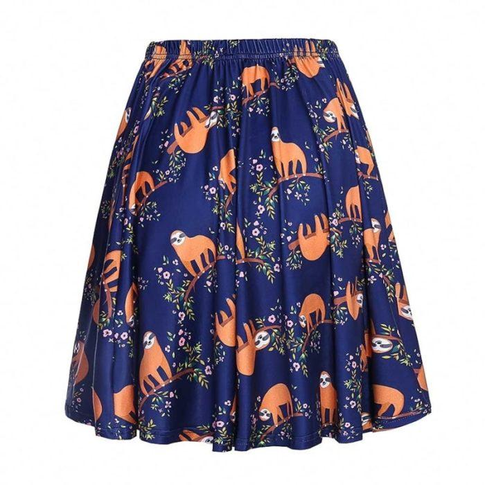 falda de perezosos