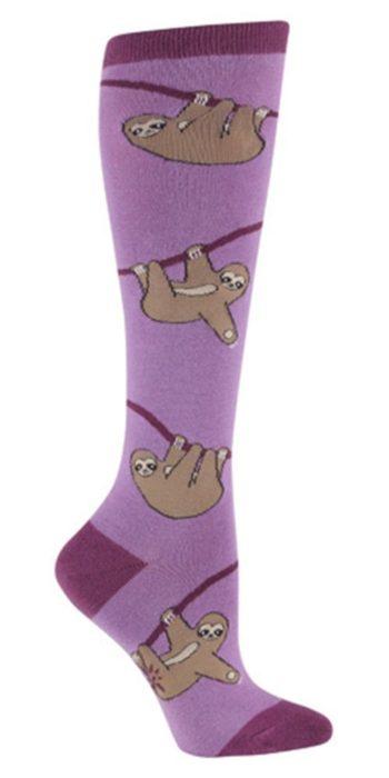 calcetas con perezosos
