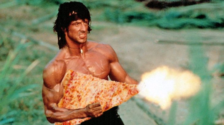 respuesta comica a la pizza