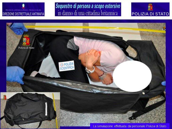 Chica que fue secuestrada dentro de un maletero