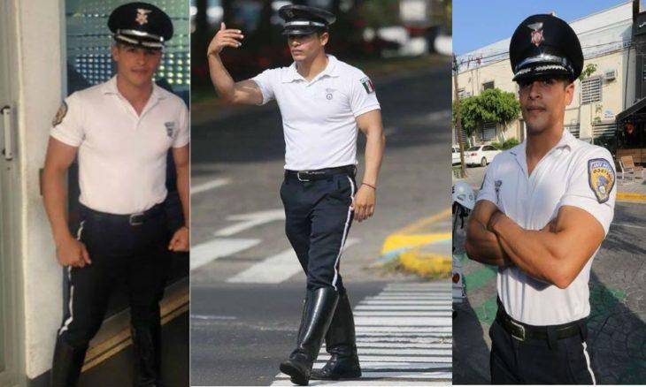 sergio ramirez el policía más sexy de méxico