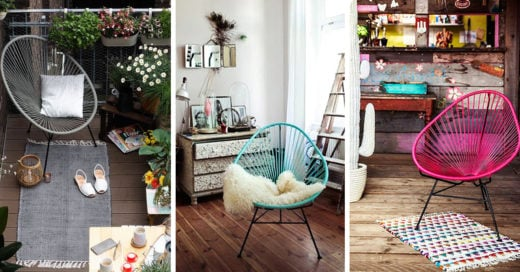 Sillas Acapulco tendencia en muebles que es sumamente cómoda