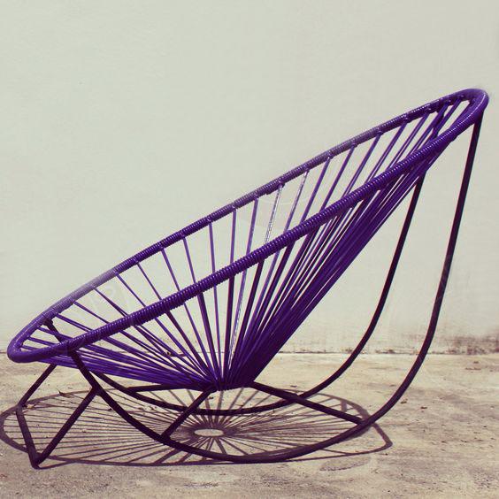 silla mecedora acapulco