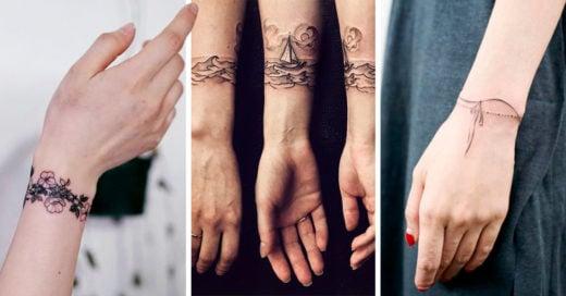 25 Tatuajes de brazaletes que definitivamente querrás hacerte