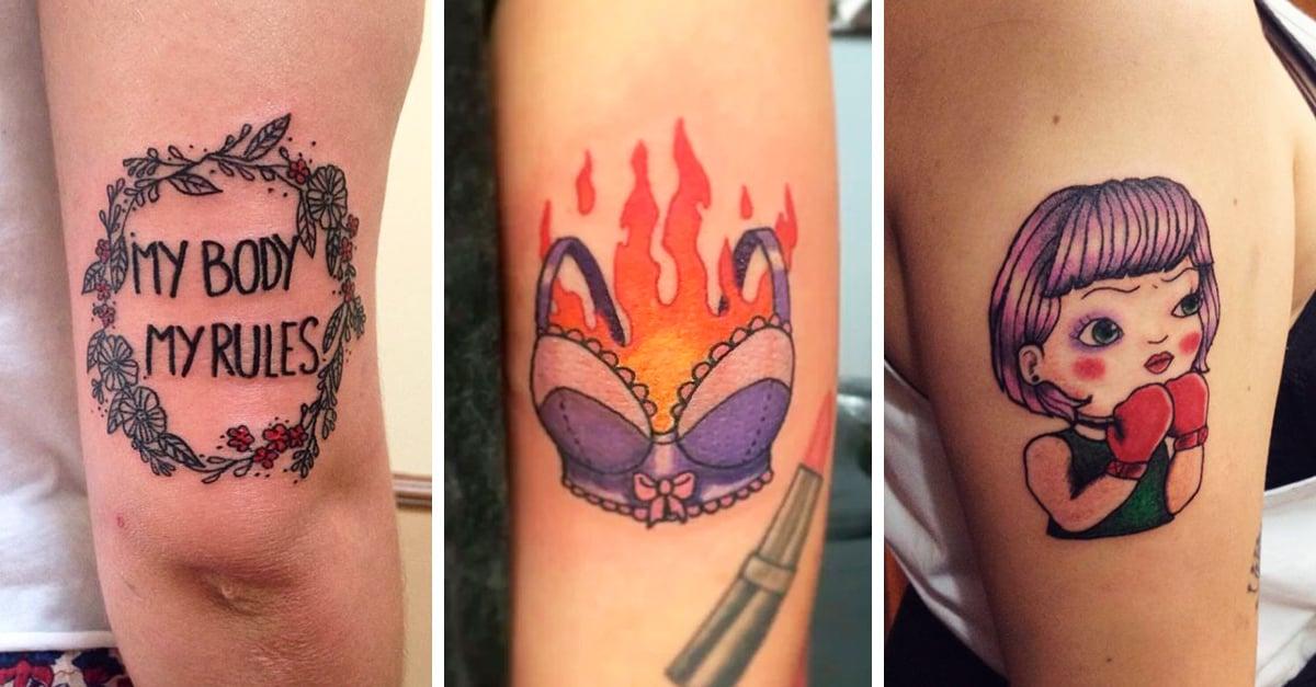 15 Diseños de tatuajes que te harán sentir poderosa