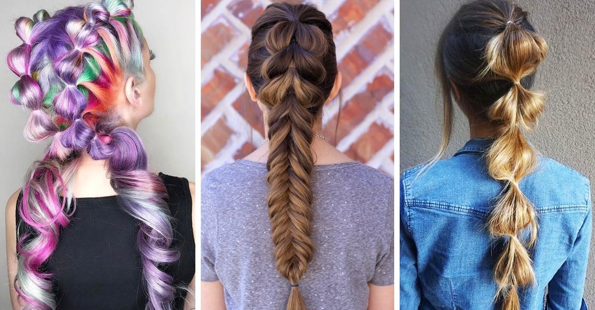 15 Increíbles peinados al estilo Bubble Braid que te harán lucir hermosa