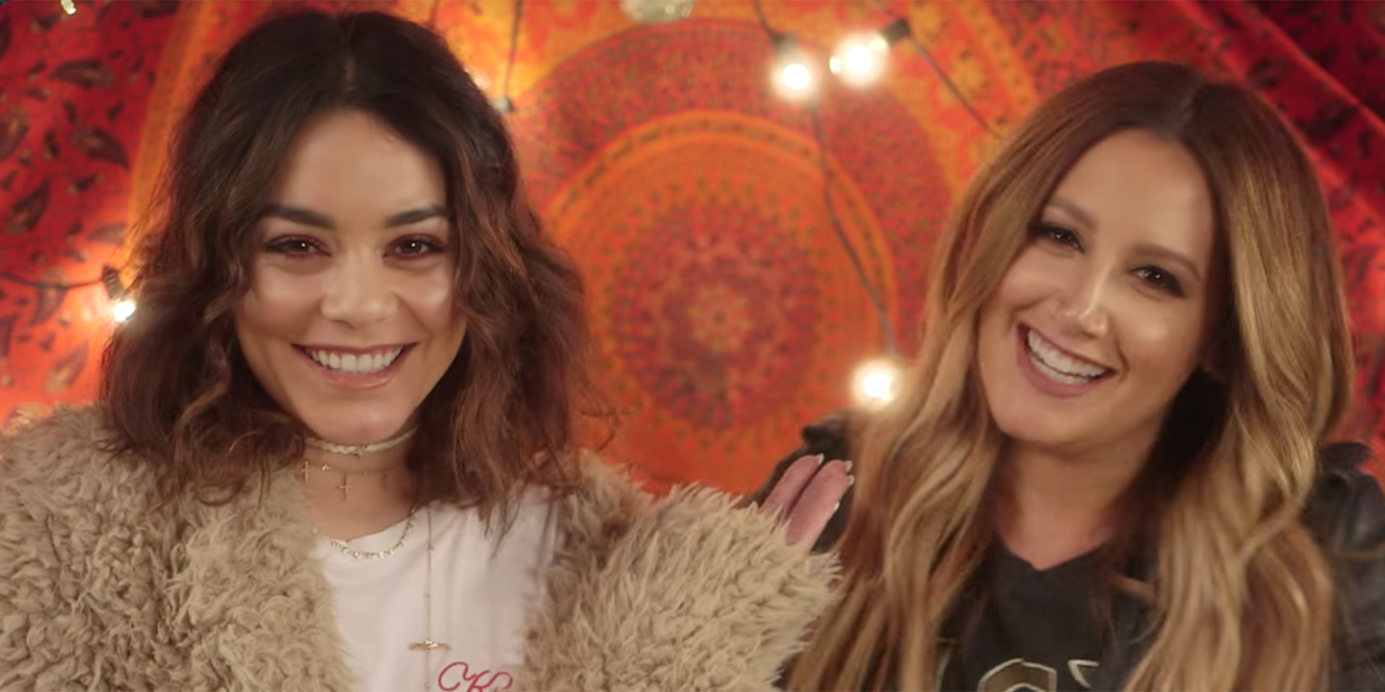 There vanessa hudgens and ashley