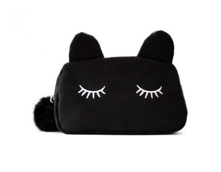 Cosmetiquera de gato