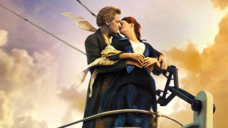 beso del Titanic