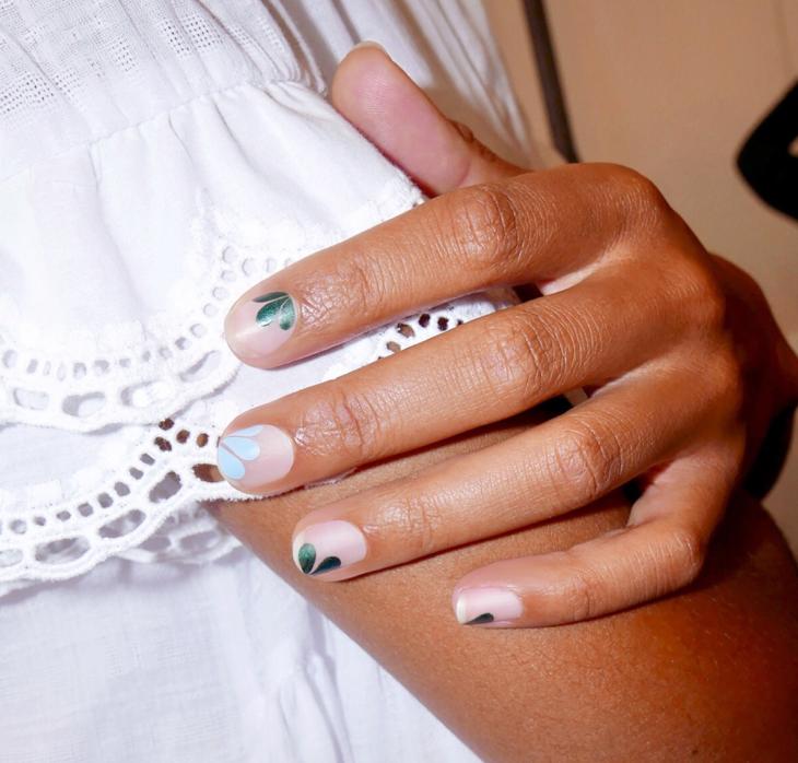Uñas de petalos