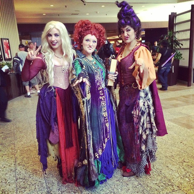 Brujas de hocus pocus disfraz