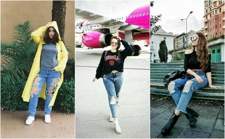 Jeans desgarrados