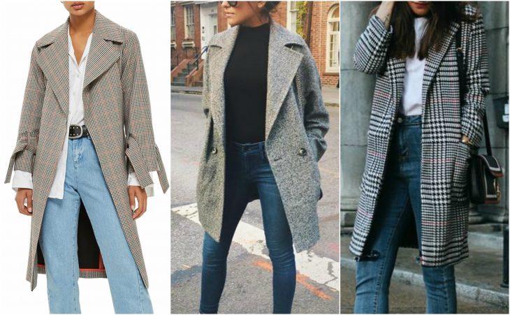 abrigo con textura