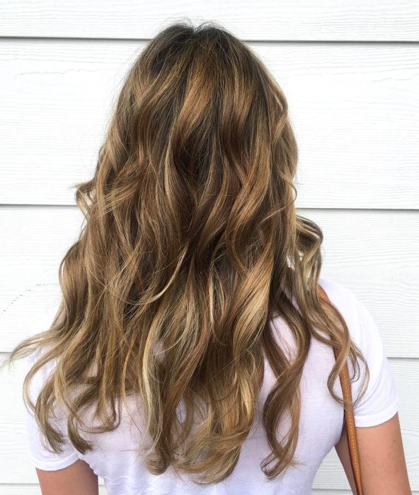 rubio oscuro color de cabello tendencia