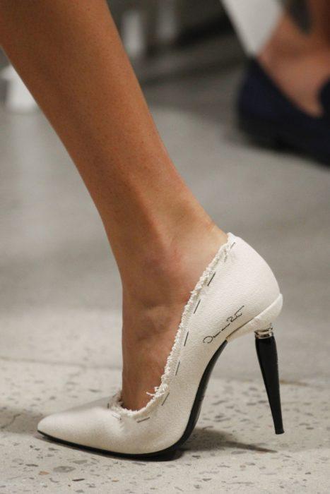 zapatillas de tela oscar de la renta