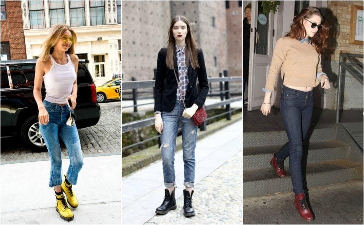 dr marteens y jeans
